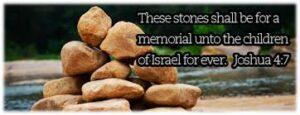 Joshua Stones of Remembrance